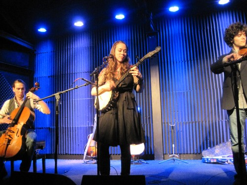 Nathaniel Smith, Sarah Jarosz, and Alex Hargreaves