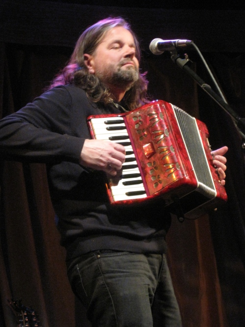 Radoslav Lorkovic and his beloved red accordion