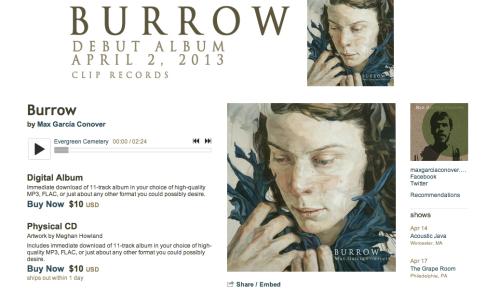 Burrow by Max Garcia Conover