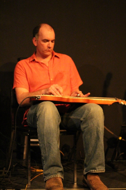 Ed on lap steel