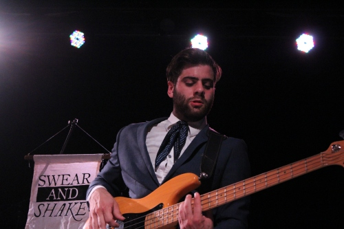 Shaun on bass