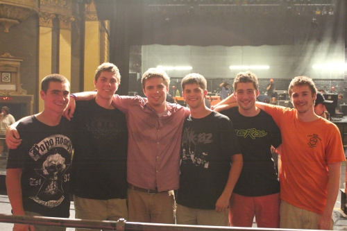 The boys! Evan, Zachary, Alden, Nick, Nathan, and David. So glad I ran into them!