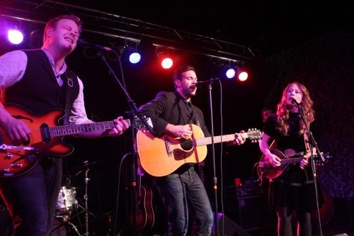The Lone Bellow: Brian Elmquist, Zach Williams, and Kanene Pipkin