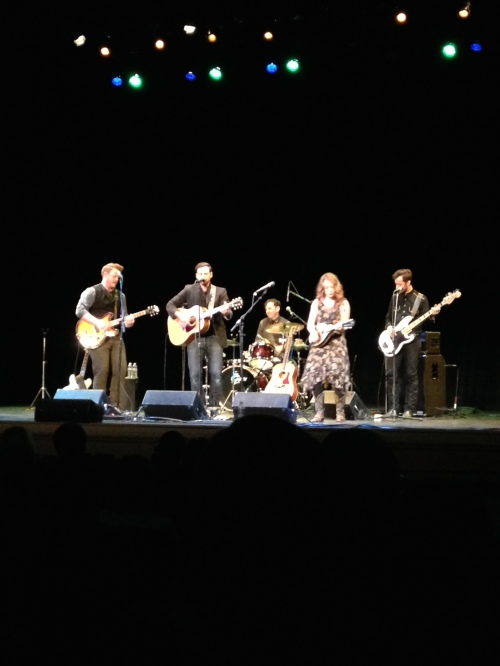 The Lone Bellow looks really different through an iPhone