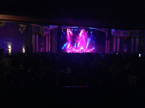 A packed State Theatre crowd. So sad to have to leave early!