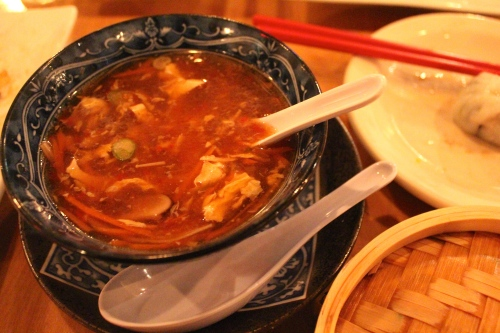 Empire's hot & sour soup