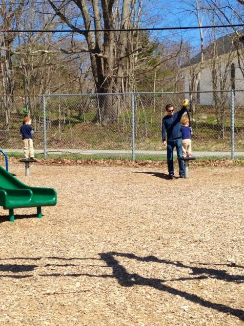 No Saturday is complete without at least one trip to the playground.