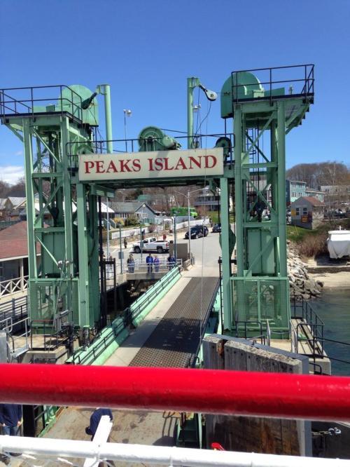 Peaks Island birthday adventuring!