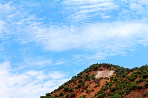 Bisbee, Arizona:  former copper mining town turned artistic community