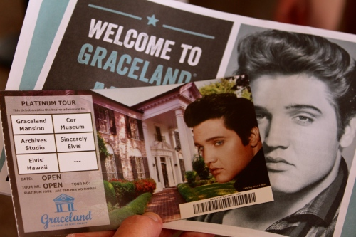 Day six:  Memphis, Tennessee--home of Graceland.