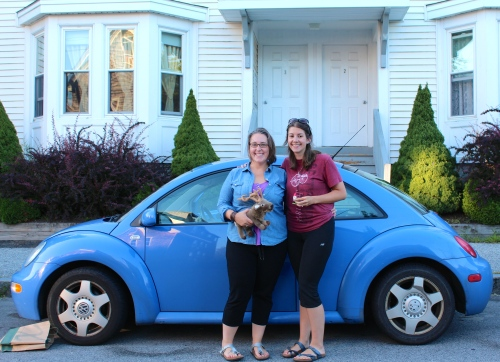 4.079 miles completed and back home in Maine. Still friends! What an adventure!