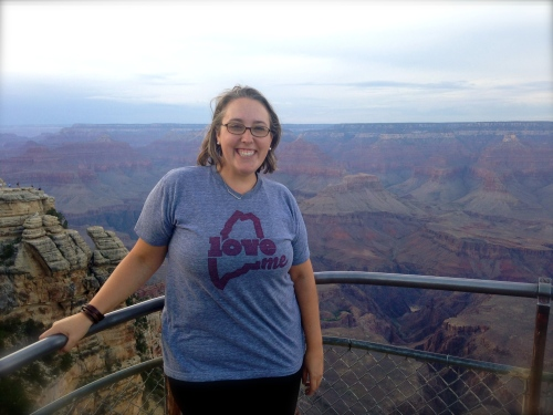 Sending Maine love from the Grand Canyon!