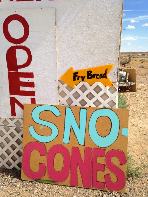 Thank goodness for sno cones. SO HOT!