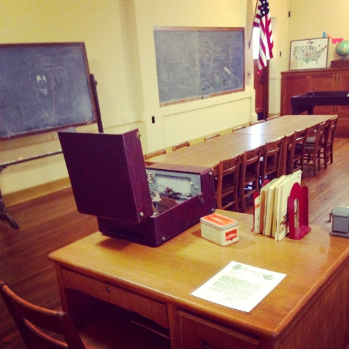Day five:  Brown v. Board of Education museum in Topeka, Kansas. Very much worth a visit.