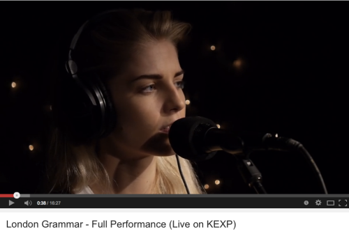 London Grammar on KEXP