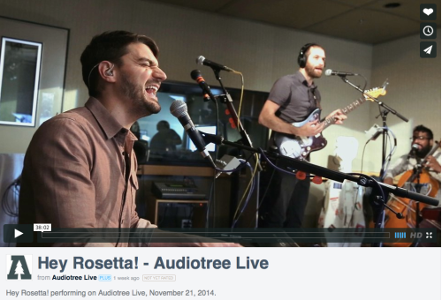 Hey Rosetta! on Audiotree