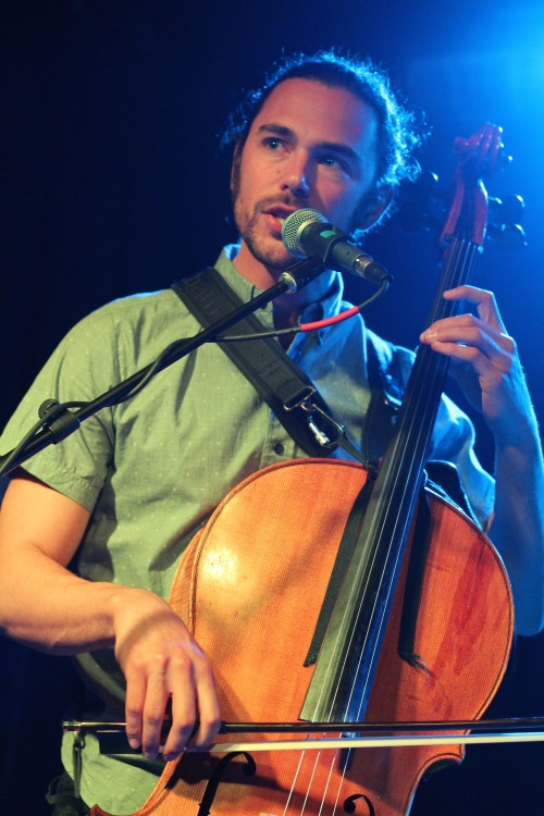 Tall Heights' Paul Wright on cello