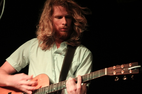 The Ballroom Thieves' Martin Earley on guitar