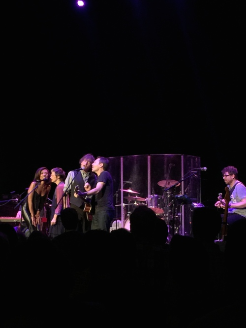"Greg Tannen and his band, including Amanda Brown, joined by The Weepies for ""Vegas Baby"""