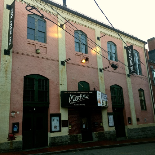 The Music Hall in Portsmouth, New Hampshire