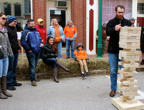 Giant jenga was a bit hit!