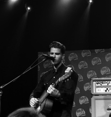 """JJ Julius Son of Kaleo. I was too close to get a picture of the whole band, which is a """"problem"""" I often have!"""